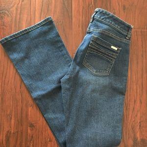 White House Black Market Jeans - White House Black Market Contour  Blue Jeans NWOT
